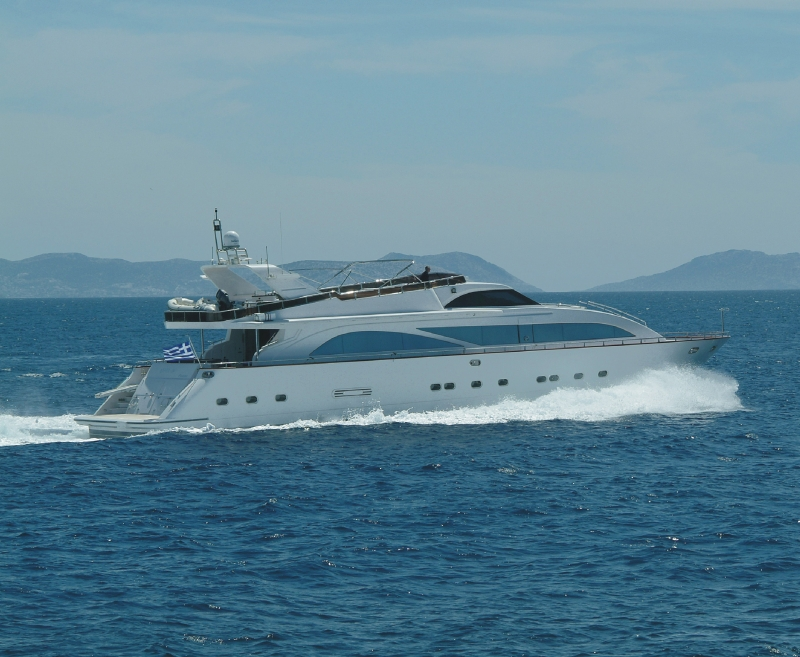 M/Y DREAM B, Giant 99 Fly